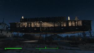 Fallout 4 vznasajuci sa dom