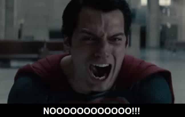 Superman Nooo